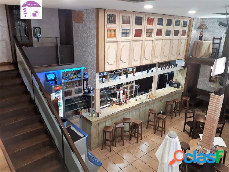Valazanca alquila bar con posibilidad de restaurante