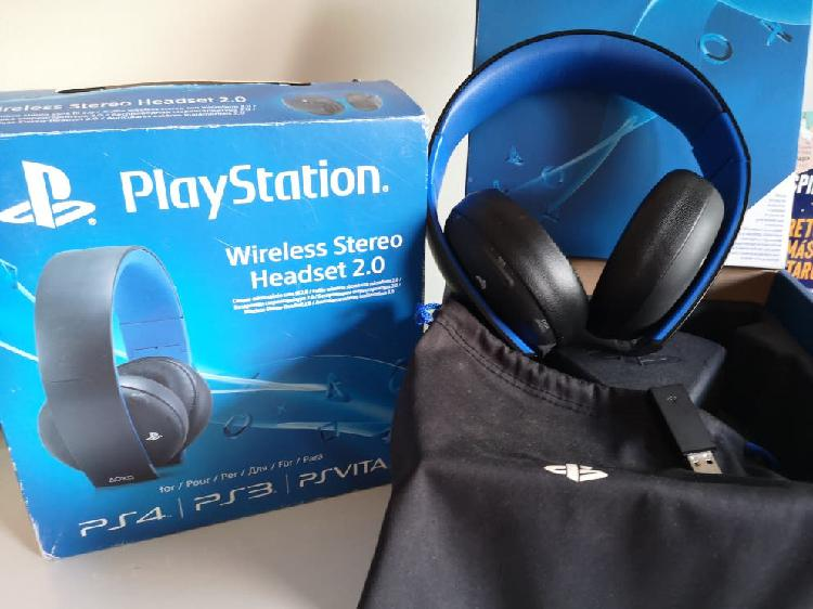 Auriculares/cascos sony ps4 wireless stereo 2.0