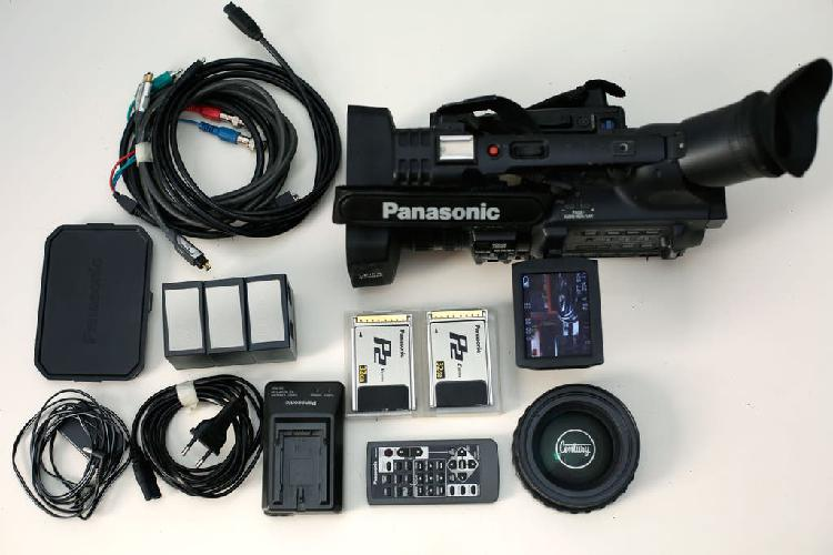 Cámara de vídeo hd panasonic hvx200 con 2xp2 32gb