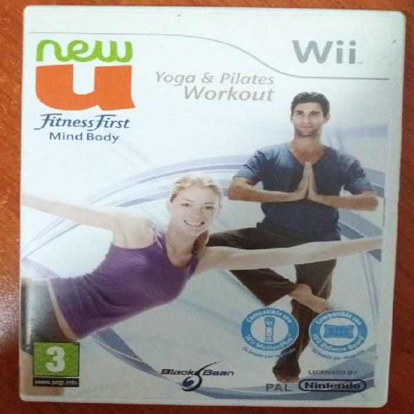 Juego wii fitness first yoga y pilates