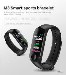 M3 plus inteligente pulsera