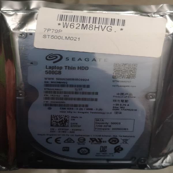Disco duro 500gb 2.5 sata