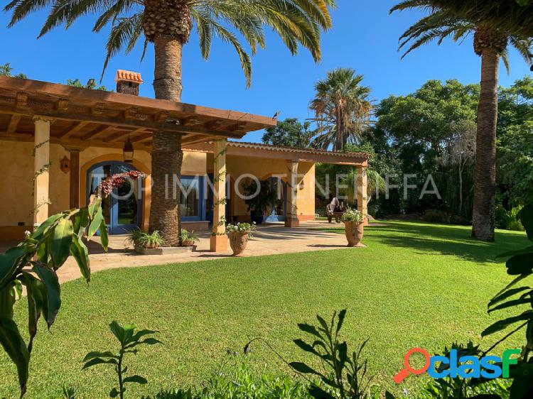 Propiedad excepcional de lujo con jardín botánico en Tenerife