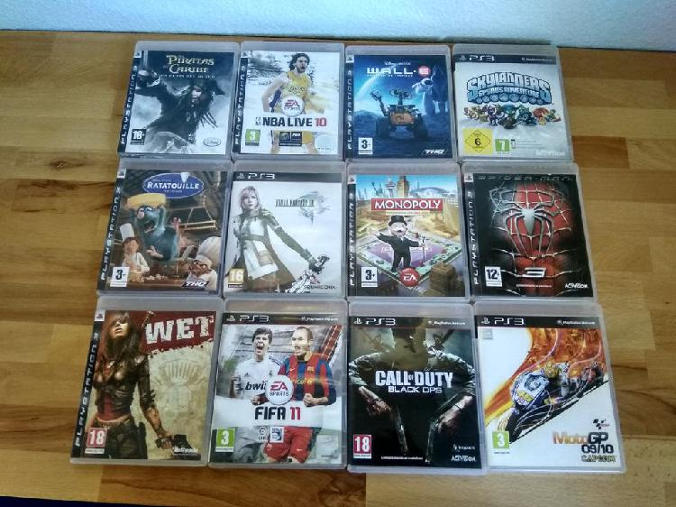 Lote juegos ps3 (call of duty black ops, final f)