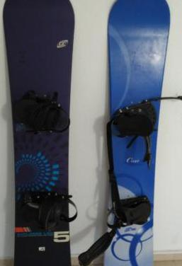Tabla snowboard crazy creek