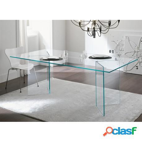 Mesa de cristal otish-tr 180 x 90 cms casa de hoy