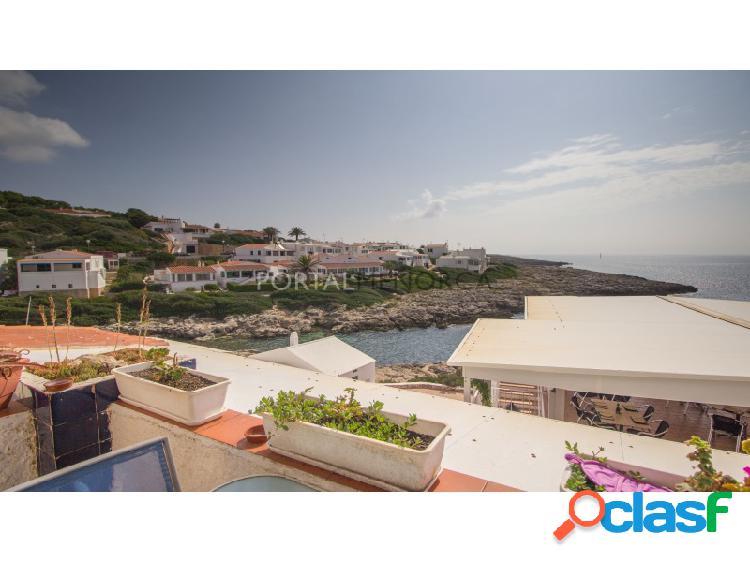 Apartamento con vistas al mar en venta en cala torret, binibeca nou.