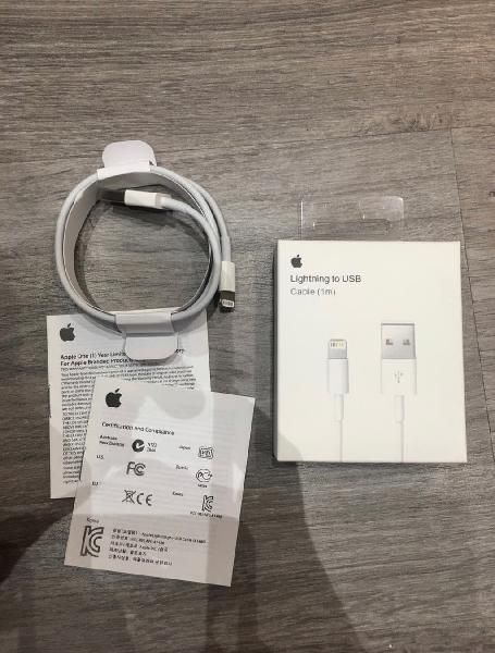 Cable original nuevo iphone xs,x,8,7,6s.....