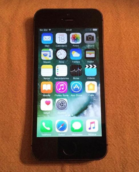 Iphone 5s 16gb negro libre
