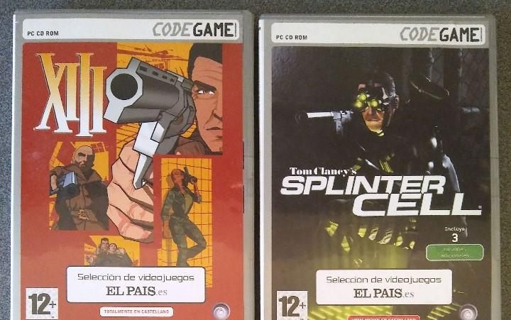 Lote juegos pc xiii splinter cell