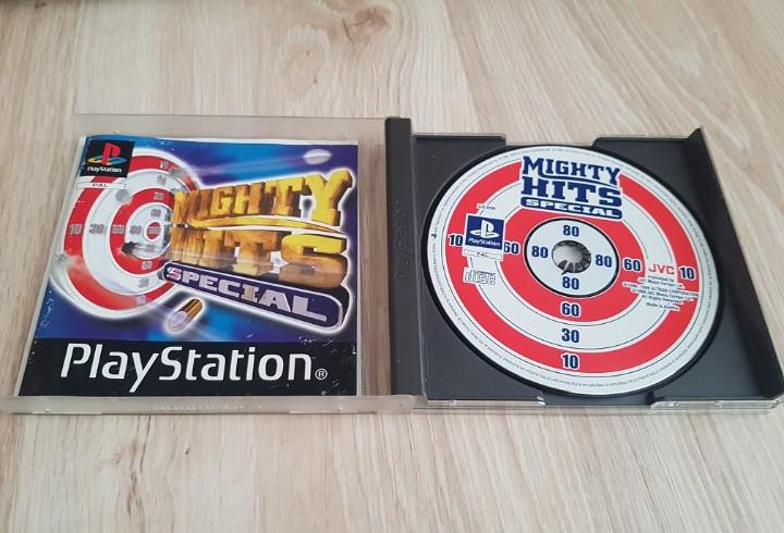 Ps1 psx play station mighty hits special pal version