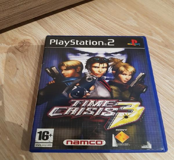Ps2 play station 2 time crisis 3 pal esp