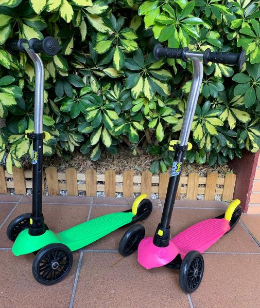 Patinetes scooter decathlon oxelo 3 ruedas