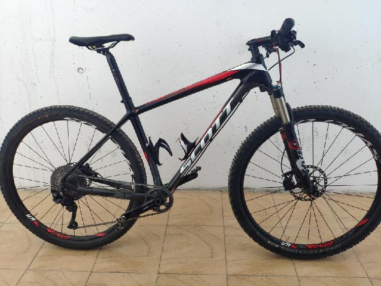 Scott 29 carbono full xt impecable!