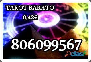Tarot muy barato a 0,42€/min. de berta. 806 099 567.