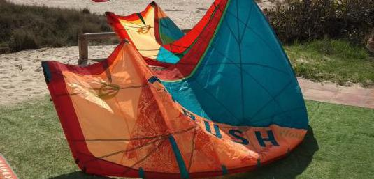 Kite airush wave 9m 2018