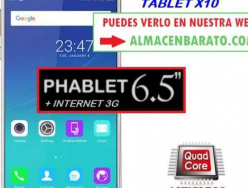 Movil tablet 2 en 1 con internet 6.5 pulgadas ...