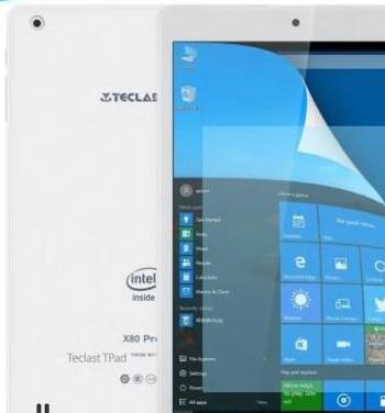 Tablet teclast x80 pro dual windows 10 android 5.1