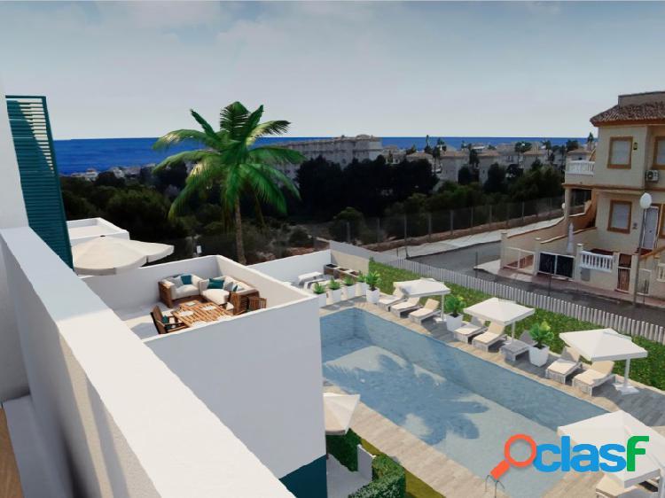 Apartamento de obra nueva en playa flamenca, orihuela costa