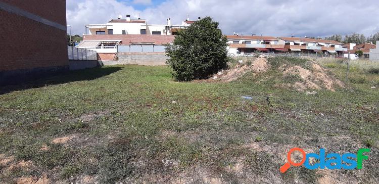 Terreno urbanizable en parc central de cunit