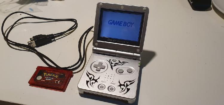 Gameboy advance sp tribal + pokemon rubi