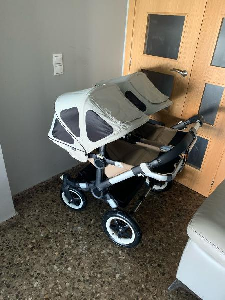 Bugaboo donkey duo completo mucho extras
