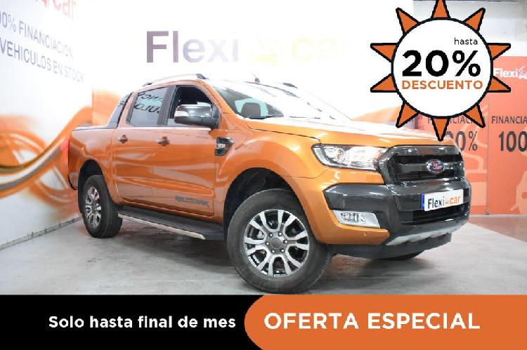 Ford ranger 3.2 tdci 147kw 4x4 dob cab wildtrack at