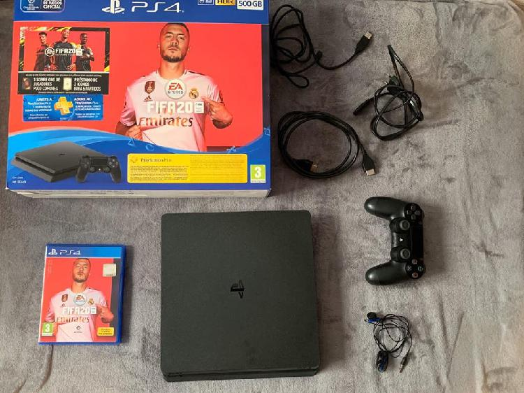 Play Station 4 Slim 500 GB + FIFA 20