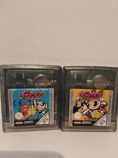 Gameboy color 2 juegos