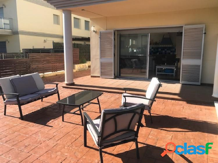 Alquiler temporada de verano!!! apartamento con gran terraza de 80 m2
