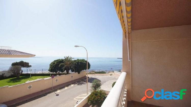 Coqueto apartamento con magnificas vistas al mar en cabo cervera, torrevieja.