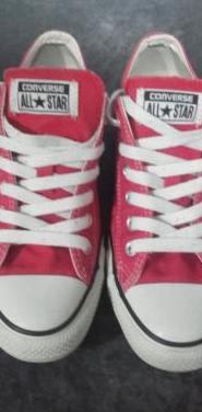Converse all star 37,5 rojas