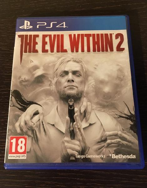 Juego the evil within 2 playstation 4 (ps4)