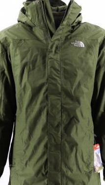 The north face t-xl color verde