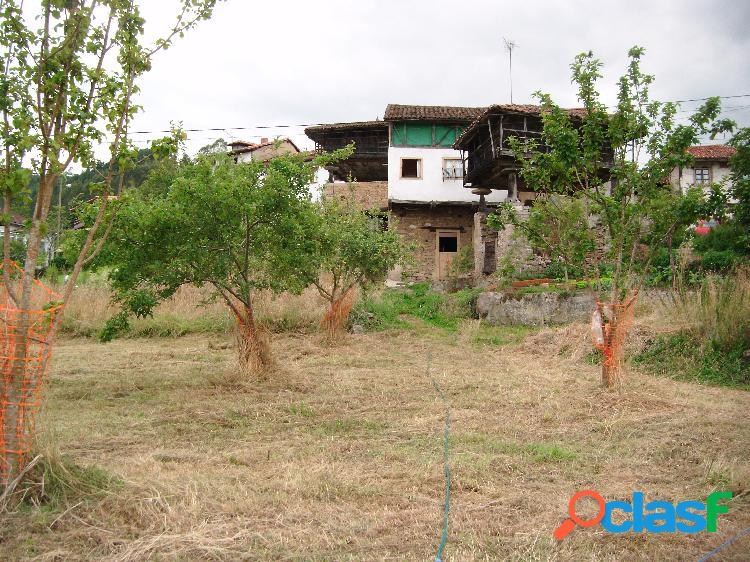 Casa con horreo y pequeño huerto