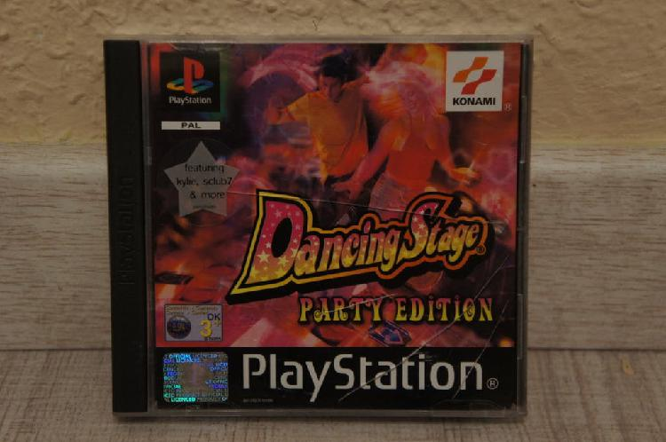 Dancing stage party edition playstation psx