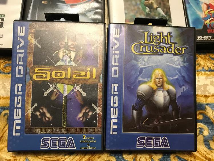 Pack juegos sega megadrive. soleil.light crusader