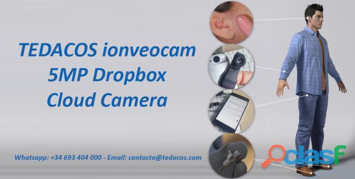 Cámara Espía Estudiantes Oculta Botón 3G 4G Internet Dropbox Remota Exámenes 2