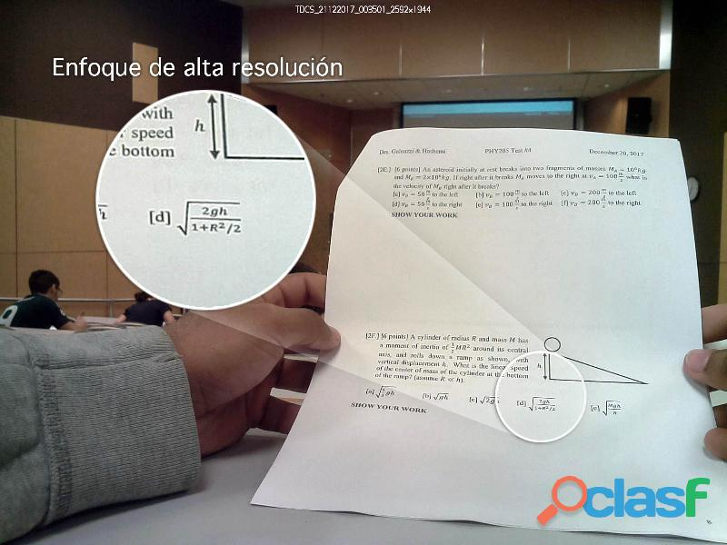 Cámara Espía Estudiantes Oculta Botón 3G 4G Internet Dropbox Remota Exámenes 3