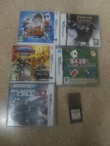 Pack juegos nintendo 2ds,ds