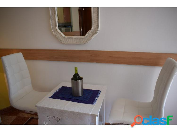 Studio with seaviews first line to the beach