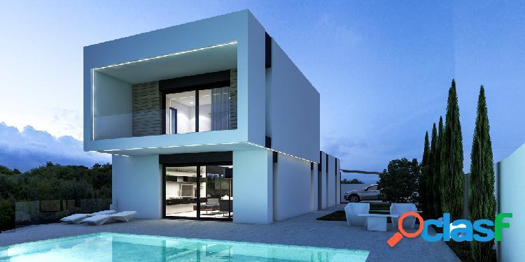 Villa de nueva construcción en