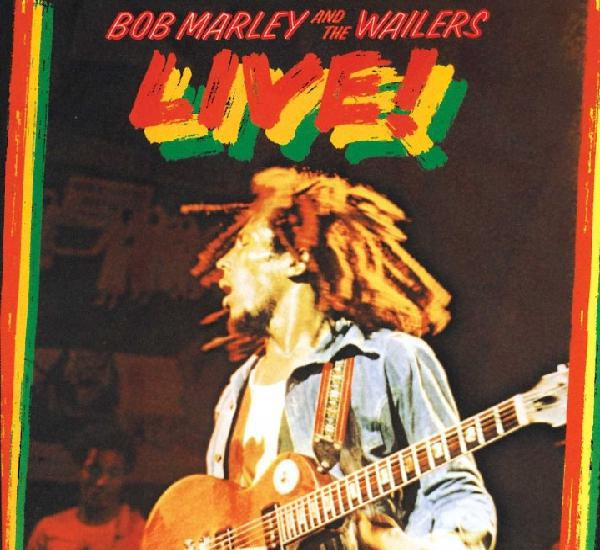 Bob marley and the wailers - live ! - cd