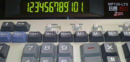 Calculadora Canon MP120-LTS
