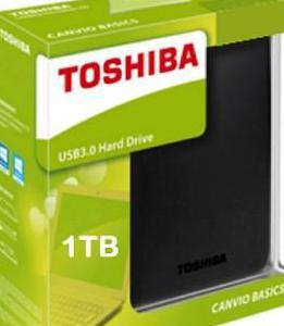 Disco duro externo 1tb toshiba canvio connect ii n