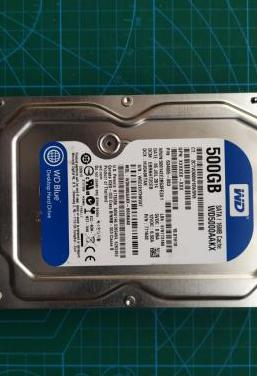 Hdd sata wd 500gb