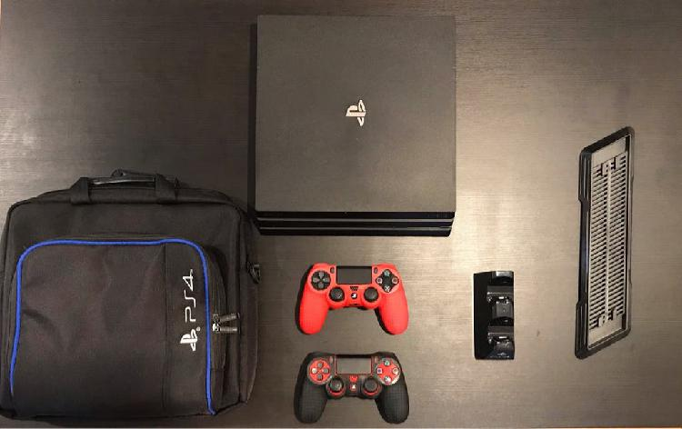 Playstation pro 1tb impecable