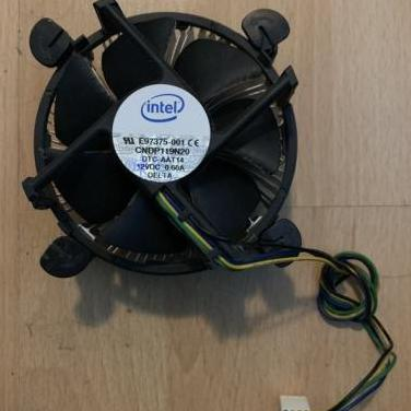 Ventilador disipador pc intel 775