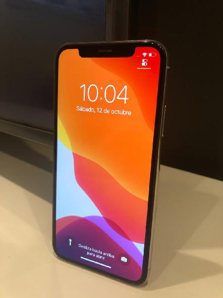 Iphone x 64gb silver perfecto