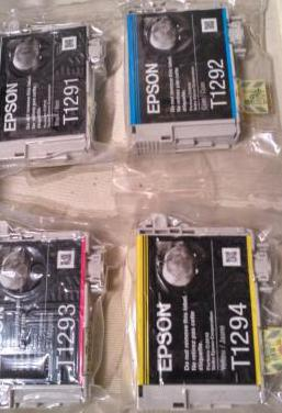 Pack cartuchos tinta epson original